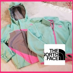 TODDLER GIRLS THE NORTH FACE 3-1 COAT JACKET